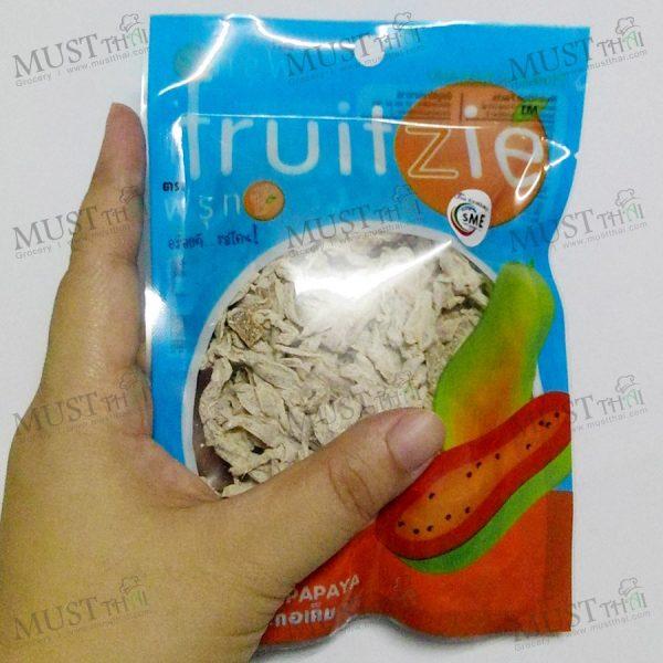 Dried Salted Papaya – Fruitzie (50g)