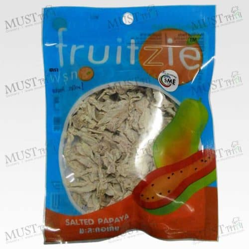 Dried Salted Papaya – Fruitzie (50g)