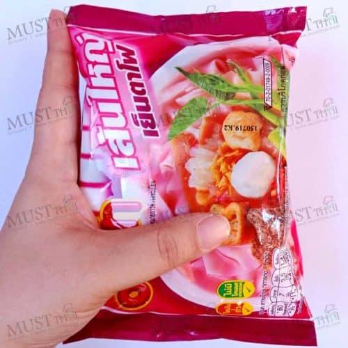 MaMa Instant Flat Noodles Yentafo Flavor