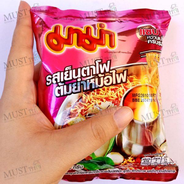 MaMa Instant Noodles Mama Yentafo Tom Yum Flavor