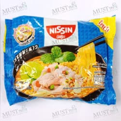 Nissin Instant noodles Moo Manao Flavour.