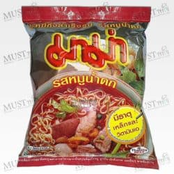 "Instant Noodles Spicy Pork ""Moo Nam Tok"" Flavor - MaMa (55 g.)"