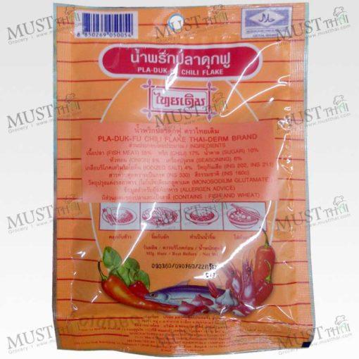 Pla-Duk-Fu Chili Flake - Thai Derm (22g)