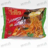 Instant Noodles Pad Char Baby Clam Flavour - Wai Wai (60 g.)