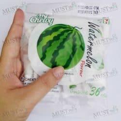 Chewy Milk Candy Watermelon Tropical Flavour 36g Thai 01