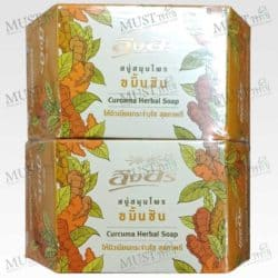 Ing On Curcuma Herbal Soap 85 g Thai 01