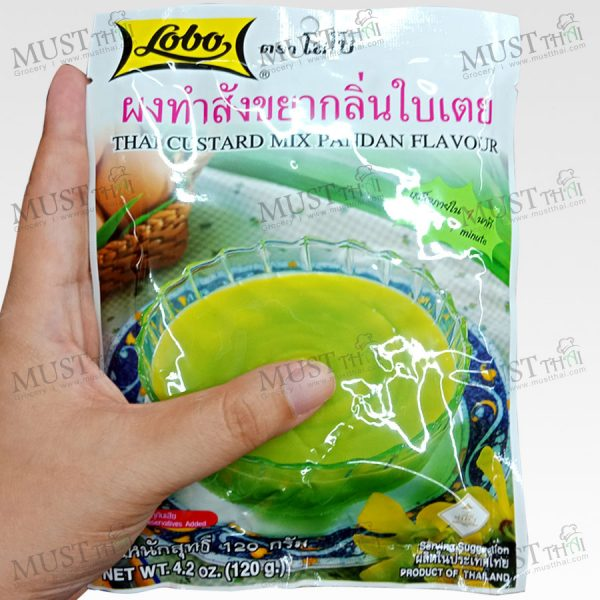 Lobo Thai Custard Mix Pandan Flavor