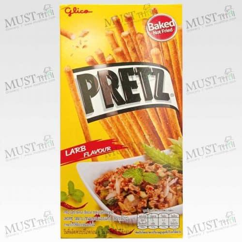 Pretz Larb Flavour Biscuit stick Glico brand