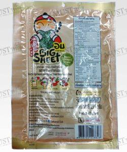 Tao Kae Noi Korean Style Baked Seaweed Big Sheet Wasabi Flavour