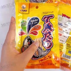Taro Fish Snack Spicy Flavoured 6 g Pack of 12