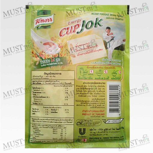 Jok Instant Porridge shrimp Flavour – Knorr ( 35 g.)