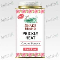 Prickly Heat Cool Pink Powder - Snake (150g.)