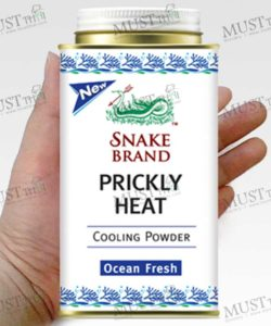 Prickly Heat Ocean Fresh Powder - Snake (150g.)