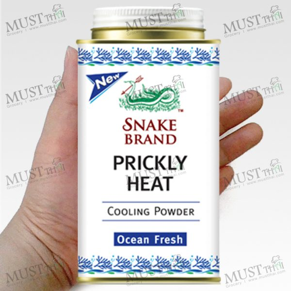 Prickly Heat Ocean Fresh Powder - Snake (150g.)