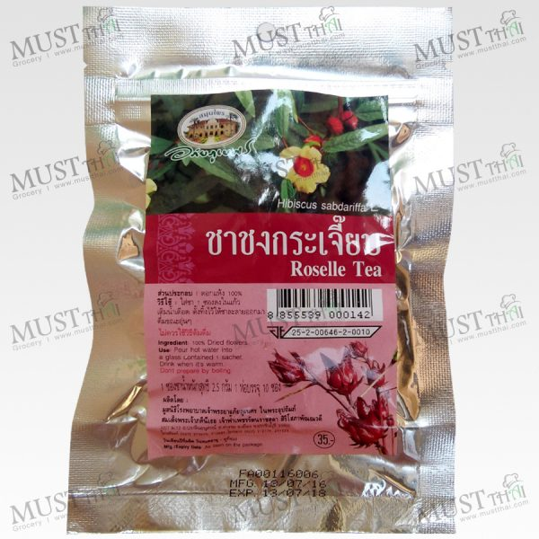 Roselle Tea Thai Abhaibhubejhr (Pack of 10 Tea bags)