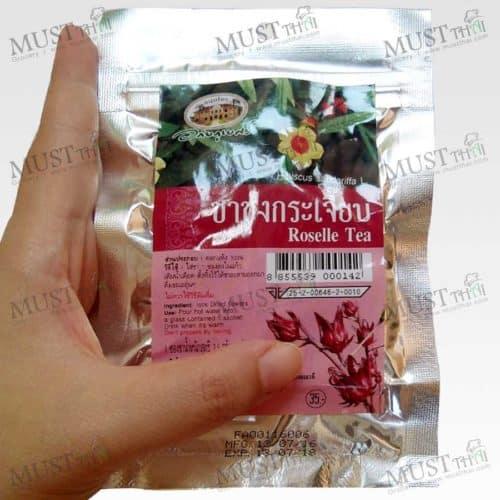 Roselle Tea Thai Abhaibhubejhr (Pack of 10 Tea bags)