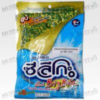 Seleco Big Bite Roasted Crispy Seaweed Topped with Crispy Fish 20g Thai
