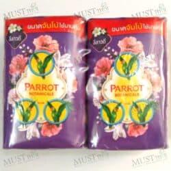 Parrot Botanicals Frangipani Fragrance Bar Soap 105g 4 bars