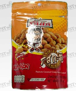 Koh-Kae Coconut Cream Flavour Coated Peanut 190g