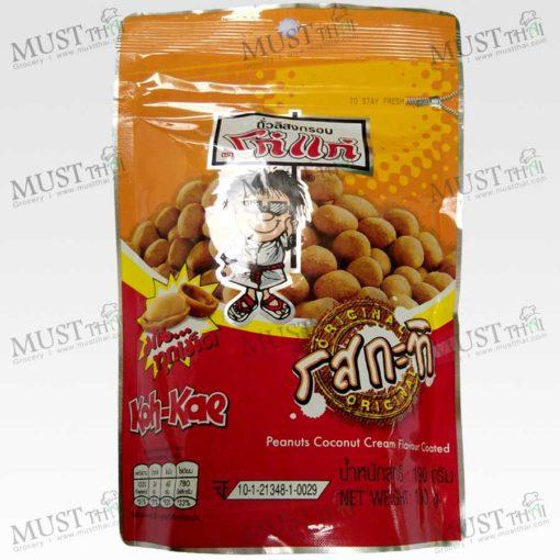 Koh-Kae Coconut Cream Flavour Coated Peanut 190g