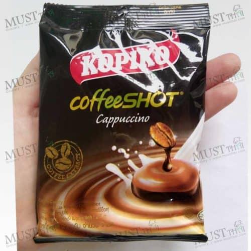 Kopiko Cappuccino Coffeeshot Candy 27g Thai