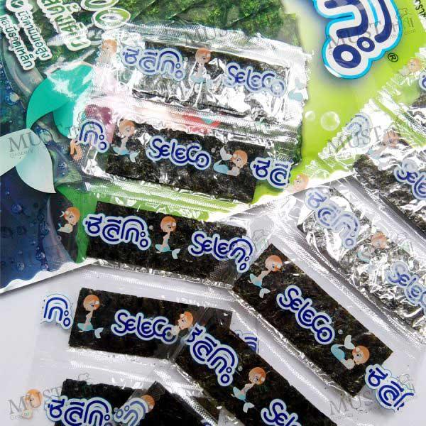 Seleco Roasted Seasoned Seaweed Original Flavour