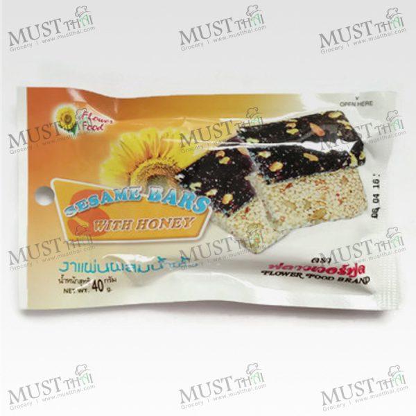 Sesame Bars With Honey - Flower Food (40 g.)