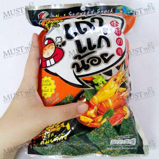 Seaweed Tom Yum Goong Flavor - Taokaenoi Thai