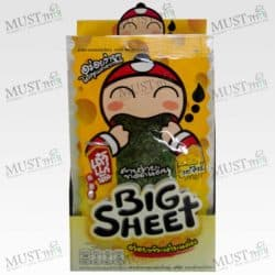 TaoKeaNoi Big Sheet Seaweed Cheese Flavouri (Box / 3.5gx12)