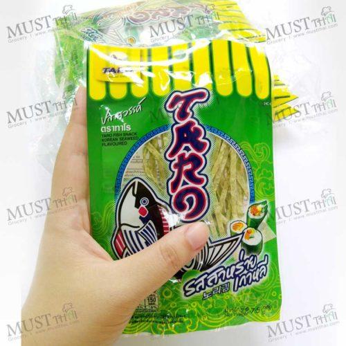 Fish Snack Korean Seaweed Flavoured - Pack (7.5g x12)