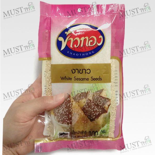 White Sesame Seeds - Khaothong (100 g.)