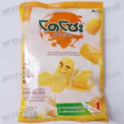Dozo Japanese Rice Cracker Corn Cheese Flavour 56g