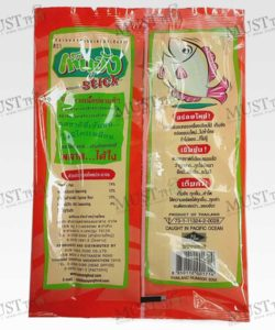 Barbecue Flavour Seasoned Baked Fish Sheet Stick - Ten Jang (22.5g)
