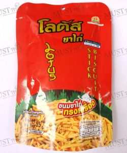 Dorkbua Lotus Biscuit Stick Sweet-Spicy Flavour 55 g