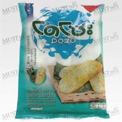 Japanese Rice Cracker Seaweed Flavour – Dozo (56 g.)