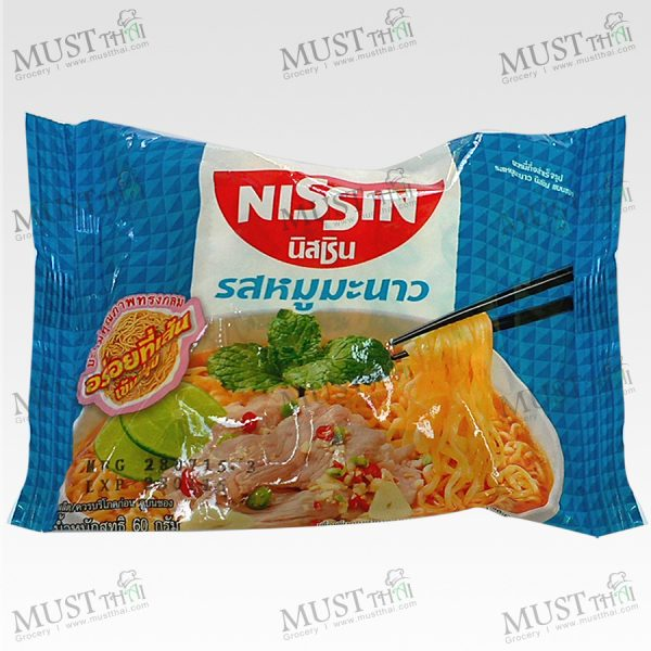 Instant noodles Moo Manao Flavour - Nissin (60 g.)