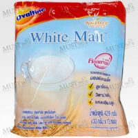 Ovaltine Natureselect White Malt With Milk Low Fat Collagen Formula 429 g pack of 13 sachets