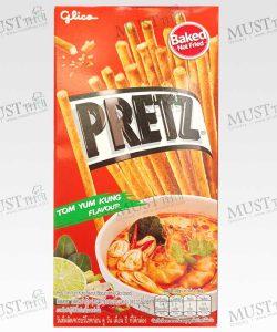Pretz Tom Yum Kung Flavour Biscuit Stick Glico brand