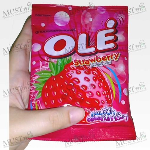 Strawberry Flavor Candy - Ole (42 g.)