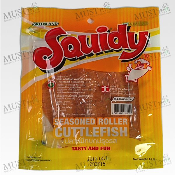 Squid Seasoned Roller Cuttlefish Classic Flavor - Squidy (14 g)