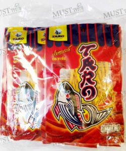 Fish Snack Hot Chilli Flavoured - Taro Pack (7.5g x 12)