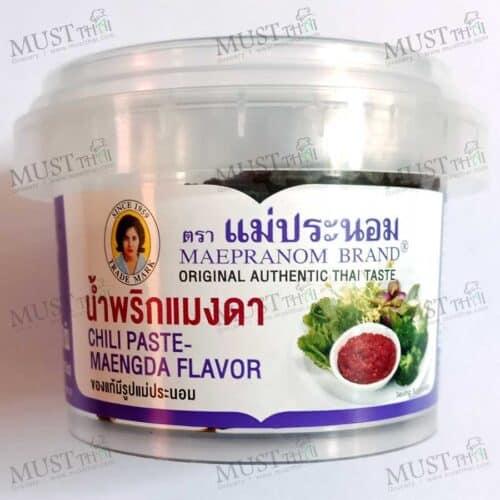 Maepranom Chili Paste Maengda Flavor 90g