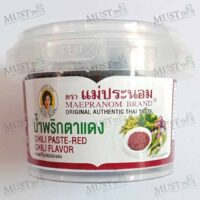 Maepranom Chili Paste-Red Chili Flavor 90g