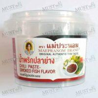 Maepranom Chili Paste Smoked Fish Flavor 90g