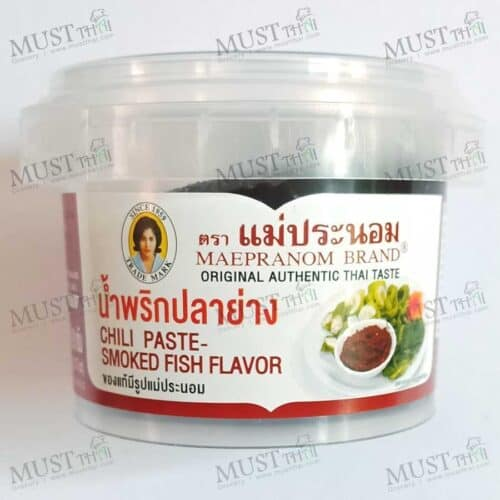 Maepranom Chili Paste Smoked Fish Flavor 90g