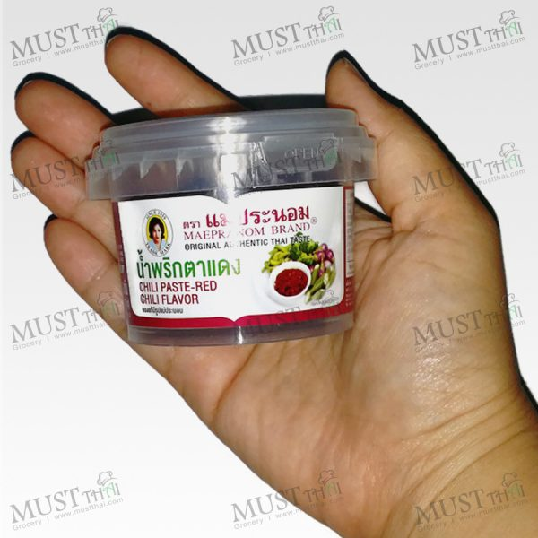 Chili Paste-Red Chili Flavor – Maepranom (90g)