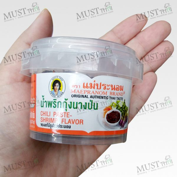 Maepranom Chili Paste Shrimp Flavor 90g Thai 01