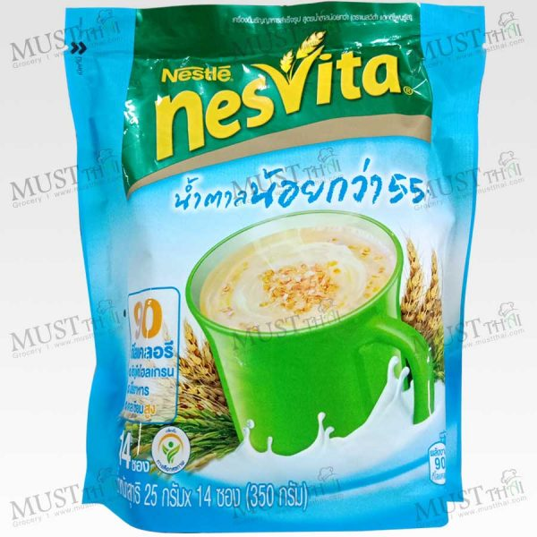 Nesvita Actifibras Low Sugar Formula Instant Cereal 25gx14pcs