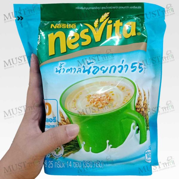 Nesvita Lactifiber Instant Cereal Lower Sugar
