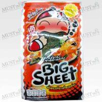 Taokaenoi Big Sheet Crispy Fried Seaweed Tom Yum Goong Flavor 3.5 g